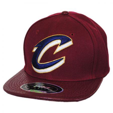 Pro-Standard Cleveland Cavaliers NBA Gator Embossed Bill Baseball Cap