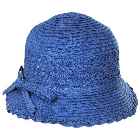 Jeanne Simmons Child's Toyo Braid Cloche Hat