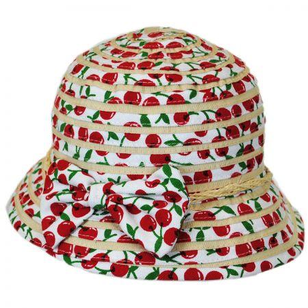 Kids' Cerise Cloche Hat alternate view 1