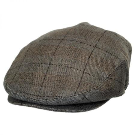 B2B Baskerville Hat Company Cashmere Staple Plaid Ivy Cap