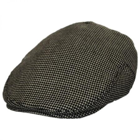 B2B Baskerville Hat Company Merripit Houndstooth Italian Wool Ivy Cap