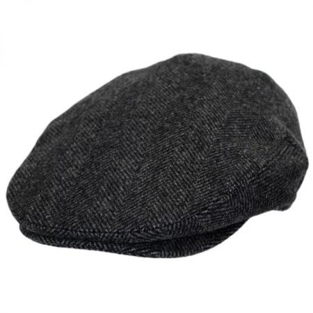 B2B Baskerville Hat Company Coombe Herringbone Ivy Cap