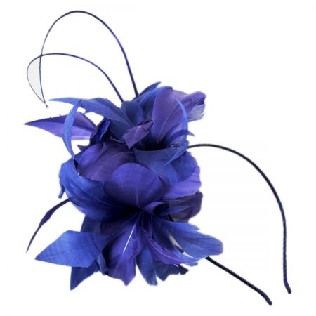Scala Two-Quill Two-Tone Fascinator Headband