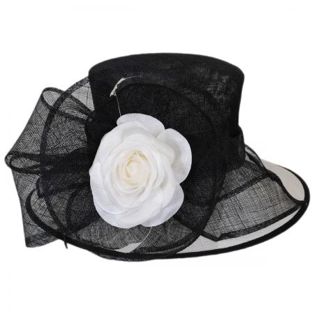Scala Ivory Rose Downbrim Hat