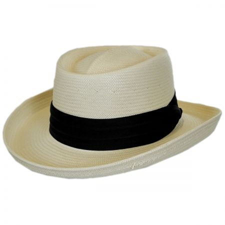 Karen Keith Toyo Straw Gambler Hat