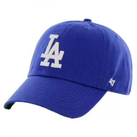 47 Brand Los Angeles Dodgers MLB Kids' Clean Up Strapback Baseball Cap