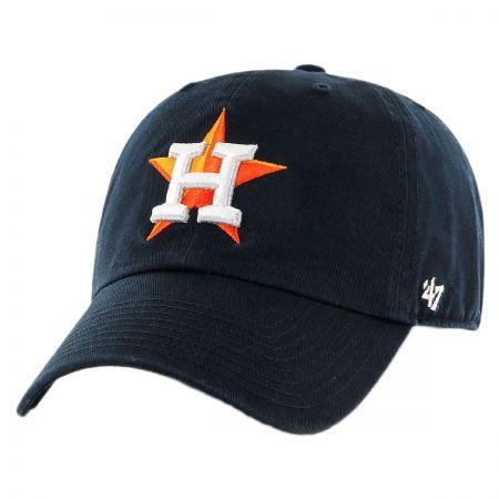 47 Brand Houston Astros MLB Kids' Clean Up Strapback Baseball Cap