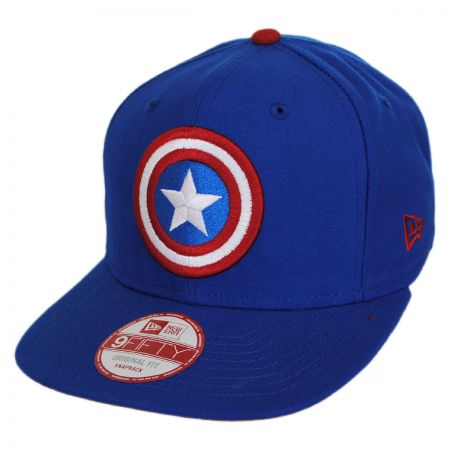 New Era Marvel Comics Captain America Sidecrest 9Fifty Snapback Baseball Cap
