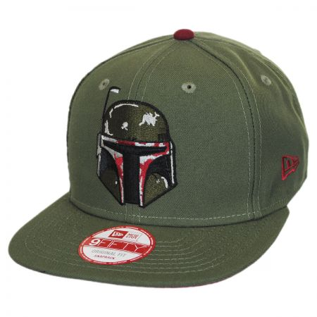 New Era Star Wars Boba Fett Sidecrest 9Fifty Snapback Baseball Cap