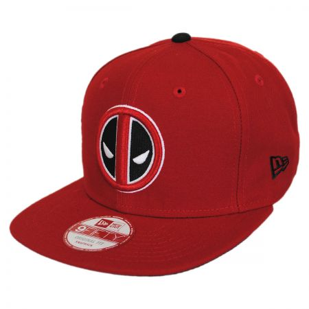 New Era Marvel Comics Deadpool Sidecrest 9Fifty Snapback Baseball Cap