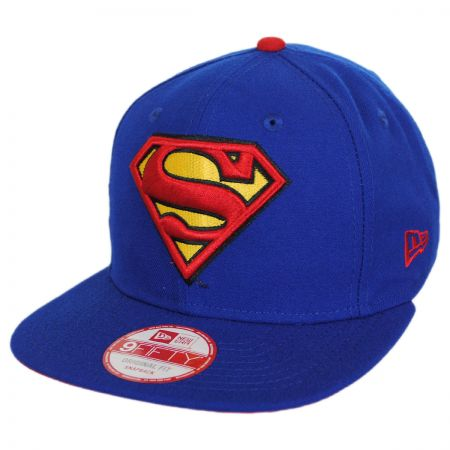 New Era DC Comics Superman Sidecrest 9Fifty Snapback Baseball Cap