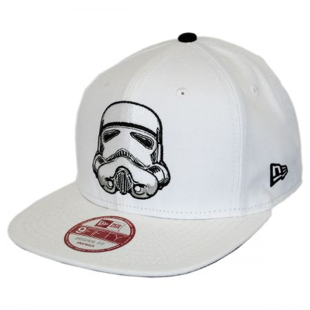 New Era Star Wars Storm Trooper Sidecrest 9Fifty Snapback Baseball Cap