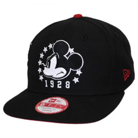 New Era Disney Mickey Mouse Sidecrest 9Fifty Snapback Baseball Cap