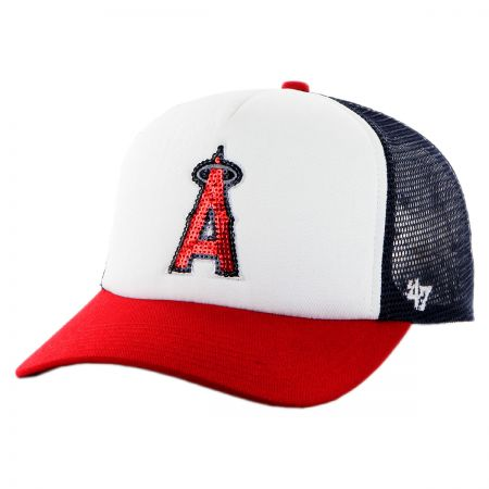 47 Brand Los Angeles Angels of Anaheim MLB Glimmer Snapback Baseball Cap