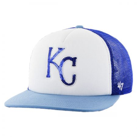 47 Brand Kansas City Royals MLB Glimmer Snapback Baseball Cap