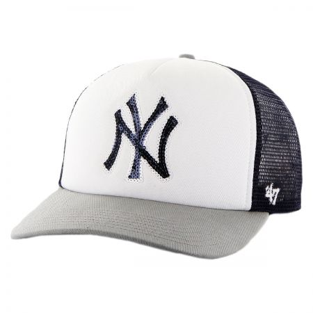 47 Brand New York Yankees MLB Glimmer Snapback Baseball Cap
