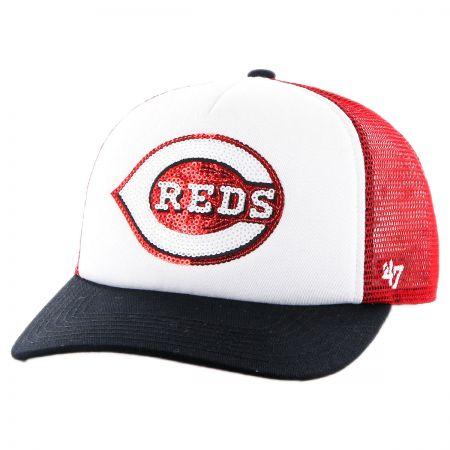 Cincinnati Reds MLB Glimmer Snapback Baseball Cap