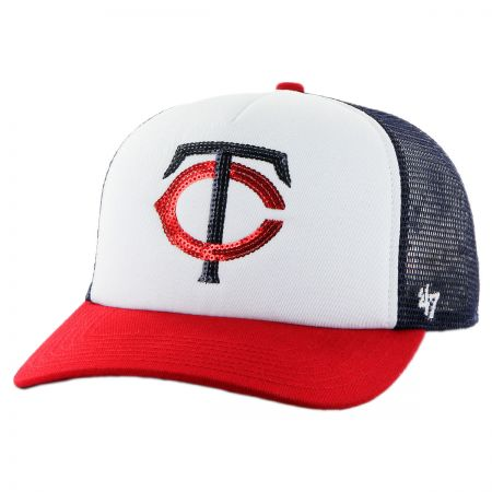 47 Brand Minnesota Twins MLB Glimmer Snapback Baseball Cap