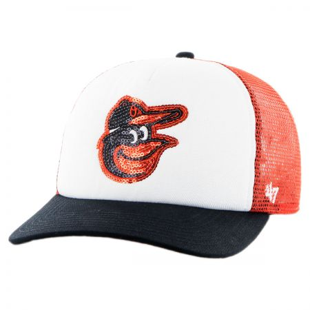 47 Brand Baltimore Orioles MLB Glimmer Snapback Baseball Cap