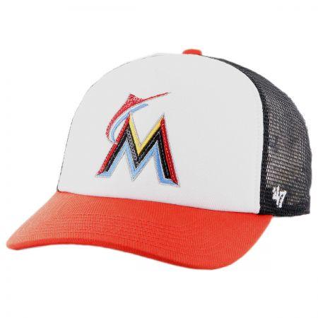 47 Brand Miami Marlins MLB Glimmer Snapback Baseball Cap