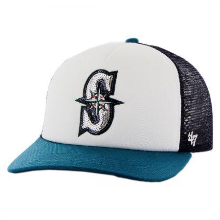 Seattle Mariners MLB Glimmer Snapback Baseball Cap