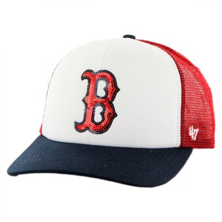 47 Brand Boston Red Sox MLB Glimmer Snapback Baseball Cap