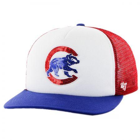 47 Brand Chicago Cubs MLB Glimmer Snapback Baseball Cap