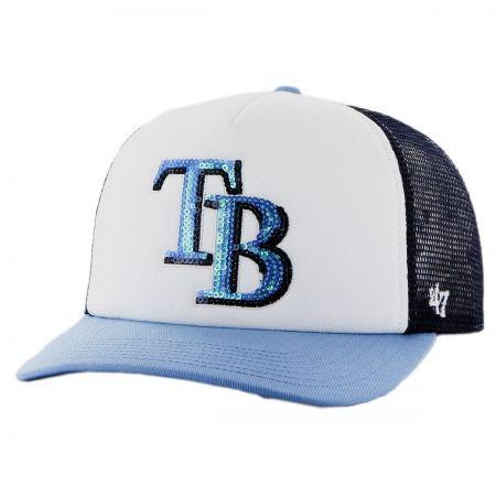 Tampa Bay Rays MLB Glimmer Snapback Baseball Cap alternate view 1