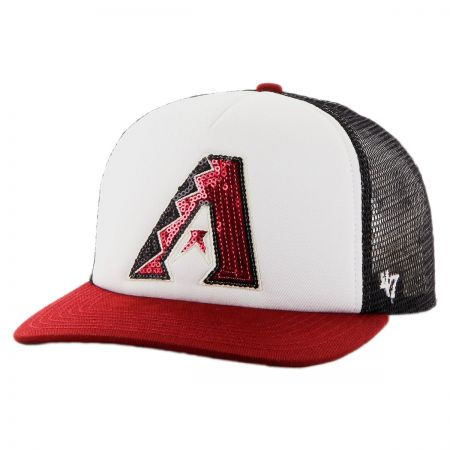 47 Brand Arizona Diamondbacks MLB Glimmer Snapback Baseball Cap