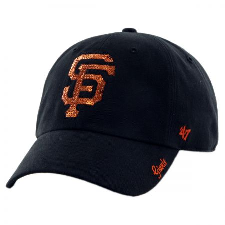 47 Brand San Francisco Giants MLB Sparkle Strapback Baseball Cap