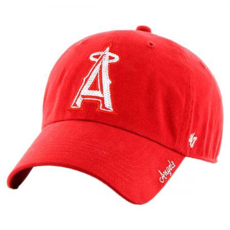 47 Brand Los Angeles Angels of Anaheim MLB Sparkle Strapback Baseball Cap