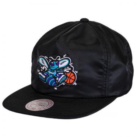 Mitchell & Ness Charlotte Hornets NBA Zipback Baseball Cap