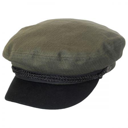 Brixton Hats Fiddler Cap - Black Bill