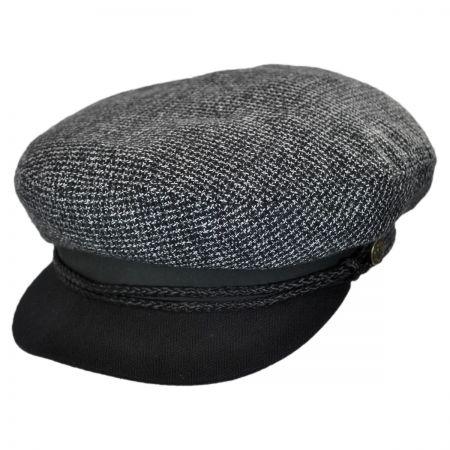Brixton Hats Star Tweed Wool Blend Fiddler Cap