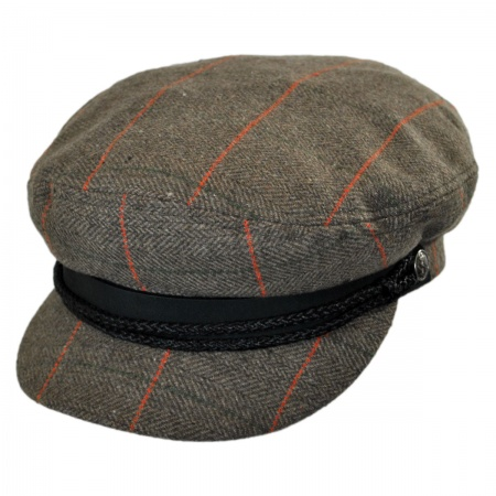 Brixton Hats Fiddler Cap - Herringbone Plaid