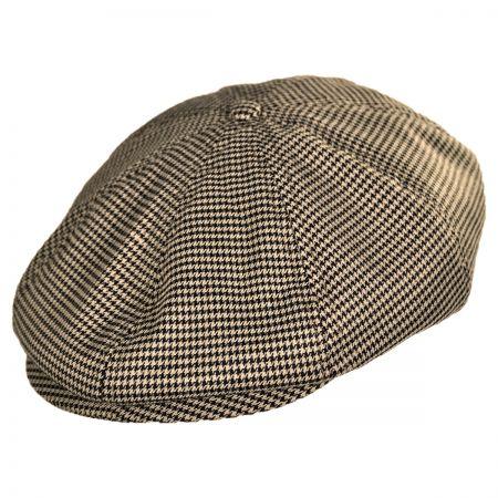 Brixton Hats Brood Houndstooth Newsboy