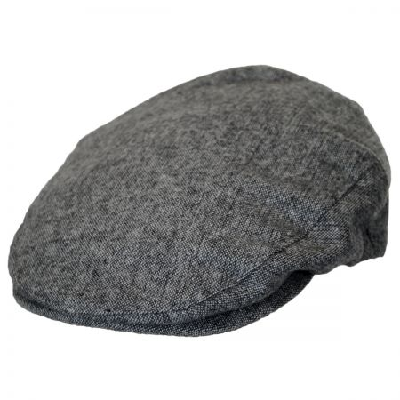 Brixton Hats Hooligan Heathered Grey Wool Blend Ivy Cap