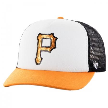 47 Brand Pittsburg Pirates MLB Glimmer Snapback Baseball Cap