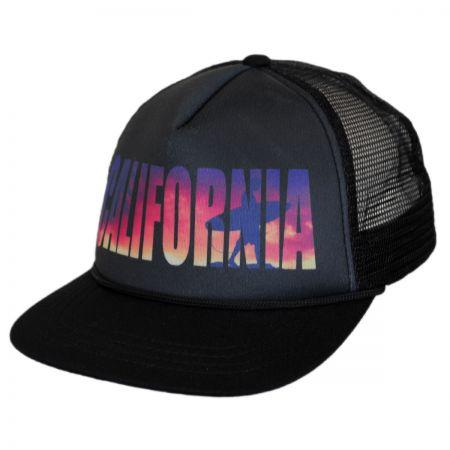 San Diego Hat Company Kids' California Mesh Trucker Snapback Baseball Cap