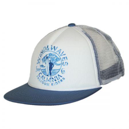 San Diego Hat Company Kids' Wind 'n Waves Mesh Trucker Snapback Baseball Cap