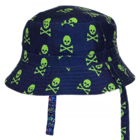 San Diego Hat Company Reversible Infant Bucket Hat