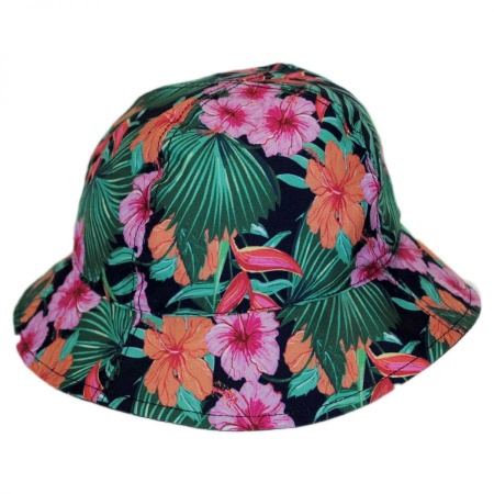 San Diego Hat Company Reversible Infant Tulip Bucket Hat