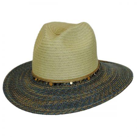 San Diego Hat Company Cascara Straw Fedora Hat