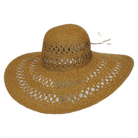 San Diego Hat Company Ventilada Widebrim Straw Swinger Hat