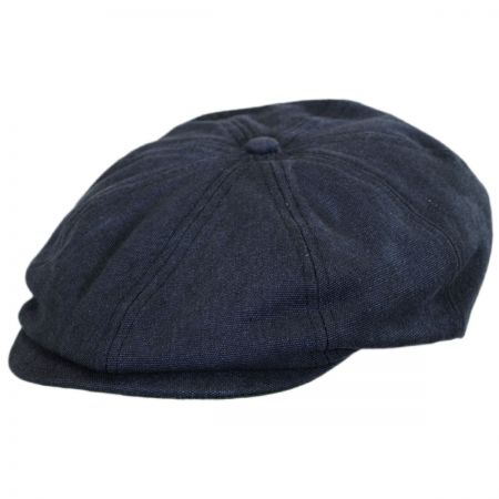 Brixton Hats Brood Cotton Twill Newsboy Cap