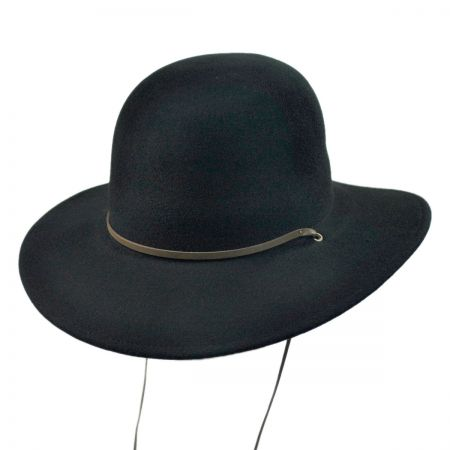 Brixton Hats Tiller Packable Wool Felt Wide Brim Hat