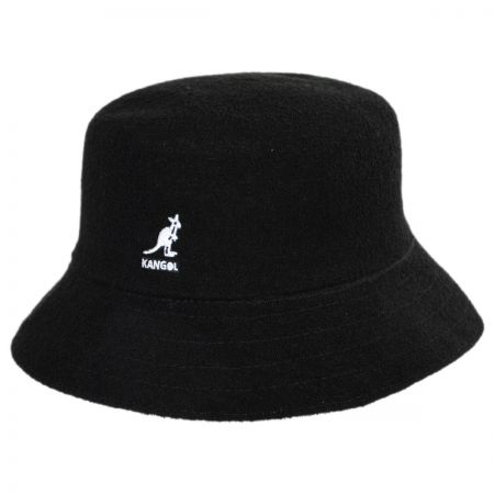 925596da Black Bucket Hat at Village Hat Shop