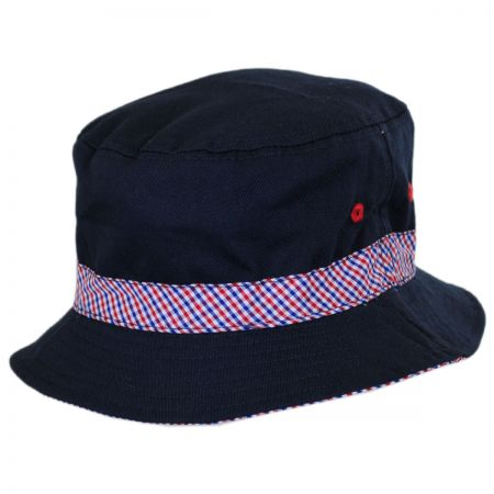 Scala Kid's Patriot Bucket Hat