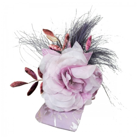 Arturo Rios Collection Lilac Fascinator Hat