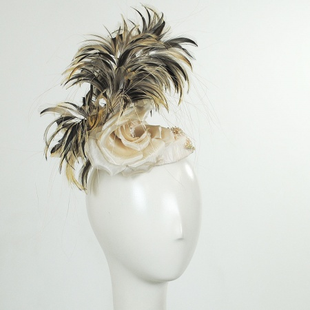 Arturo Rios Collection Prunella Fascinator Hat